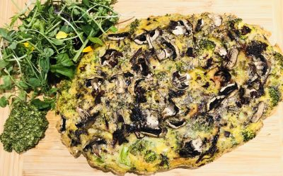 Vitamin B – Egg and Leek Frittata