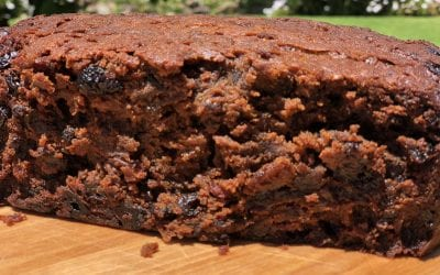 Organic Gluten-Free Christmas Cake